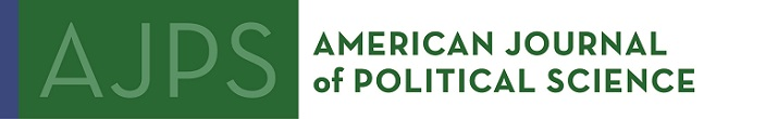 American Journal of Political Science (AJPS) Dataverse